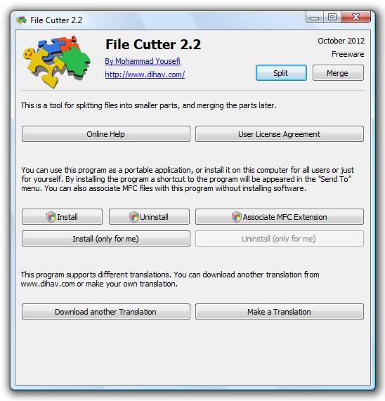 dihav - File Cutter
